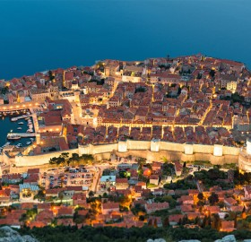 adriatic beauty, dubrovnik, croatia