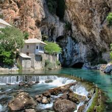 buna river spring, bosnia and herzegovina