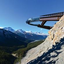 glacier skywalk in alberta, canada