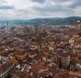 old town of florence, italy