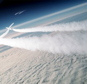 two mig-29s intercepeted by F-15s