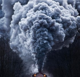 powerful train locomotive