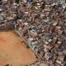 soccer ground in brazil