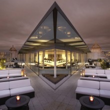 bar rooftop, london