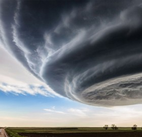 supercell storm over colorado