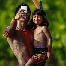 native brazilian selfie