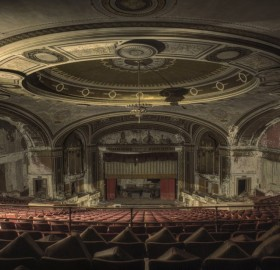 abandoned theatre, new york