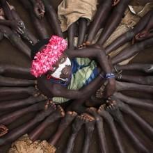 children of karo tribe, ethiopia