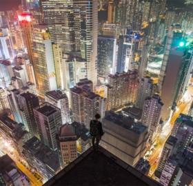 hong kong rooftopping