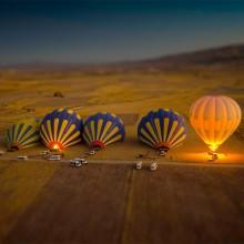 tilt-Shift hot air balloons