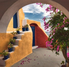Beautiful And Colorful Greece