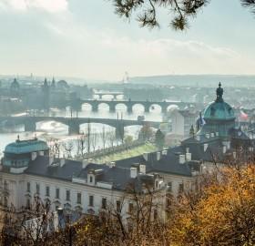 beautiful city of prague, czech republic
