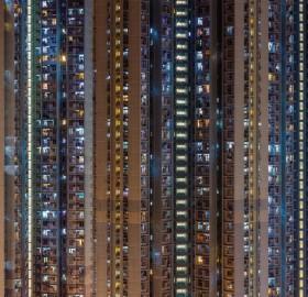 Apartment Blocks in Hong Kong