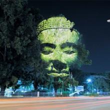 Hologram On A Tree, Singapore