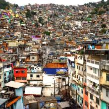 Rocinha Favela, Rio De Janeiro, Brazil