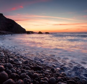 Sunset at Bloody Foreland Coast, Ireland