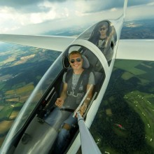 A Selfie From Heavier-Than-Air Aircraft