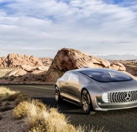 Self-Driving Mercedes-Benz Car