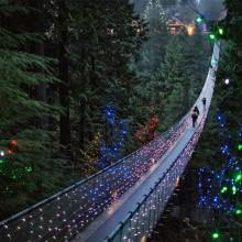 Suspension Bridge in Vancouver, Canada