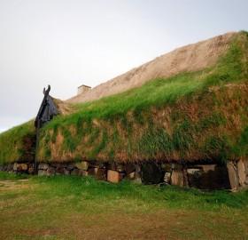 Viking Longhouse, Iceland
