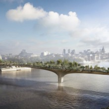 Worlds First Garden Bridge, London [CGI]
