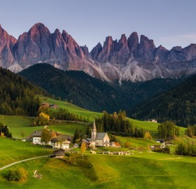 A View On Dolomites, Italy