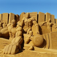 Awesome Sand Sculpture, Melbourne