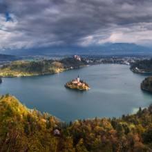Bled Island Church, Slovenia