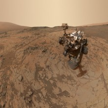 Curiosity's Latest Selfie From Mars
