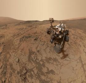 Curiosity's Latest Selfie From Mars