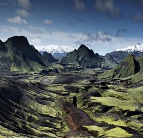 Epic Icelandic Landscape