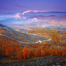 Autumn In Karabash, Russia
