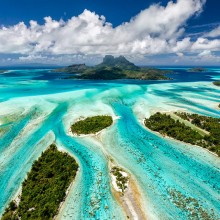 Bora Bora From Above