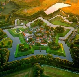 Fort Bourtange, Holland