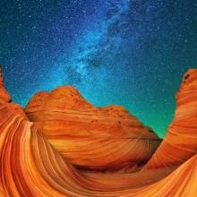 Marble Canyon At Night, Arizona