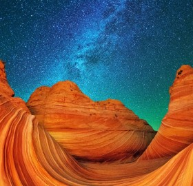 Marble Canyon At Night, Arizona