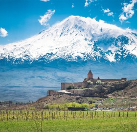 Monastery At Mount Ararat, Armenia