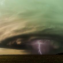 Supercell Storm Over Nebraska