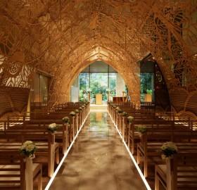 Wooden Wedding Chapel