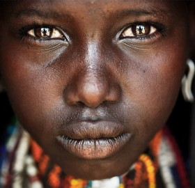 A Girl From Arbore Tribe, Ethiopia
