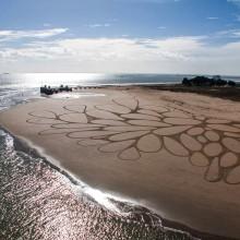 Huge Sand Drawings, Atlantic Coast