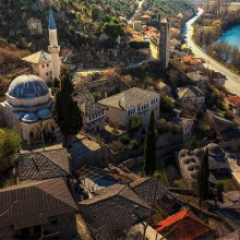 Mostar, A Beautiful Town In Bosnia And Herzegovina