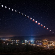 When Moon Turns Red – Lunar Eclipse