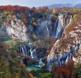 Plitvice National Park In Autumn, Croatia
