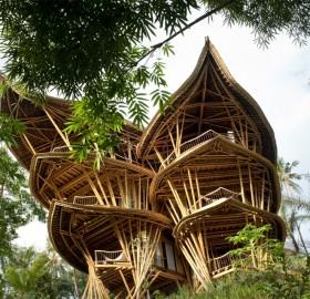 Sustainable Bamboo Home, Bali