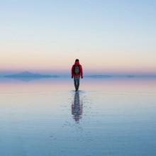 World's Largest Salt Flat, Bolivia
