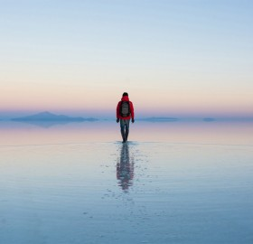 World's Largest Salt Flat, Bolivia