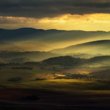 A View On Owls Mountains, Poland