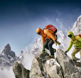 Climbing The Mont Blanc Massif
