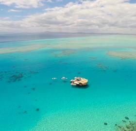Floating Pizzeria, Fiji
